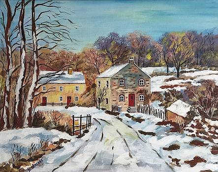 Bel Hiver in Normandy by Dominique Derenne
