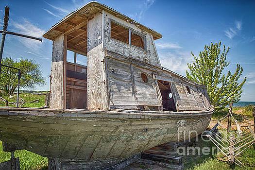 Bell Fishing Boat by Nikki Vig