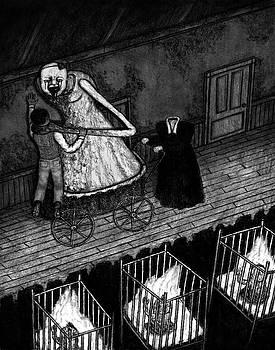 Bella The Nightmare Carriage - Artwork by Ryan Nieves