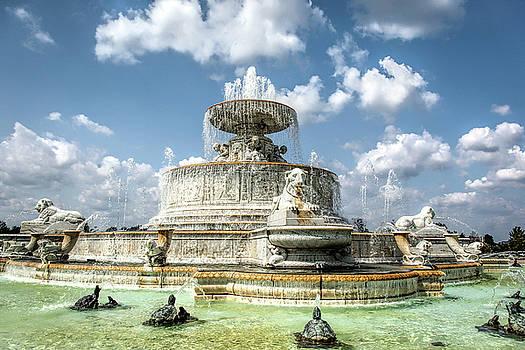 Belle Isle Fountain by Karen Varnas