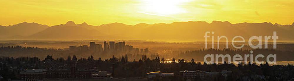 Bellevue Eastside Morning Light Atmosphere by Mike Reid