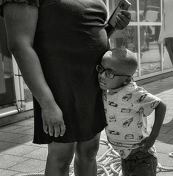Belly and Boy by Michel Verhoef