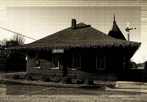 Belton South Carolina Depot 21 Vintage by Joseph C Hinson