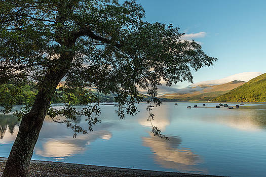 David Ross - Ben Lawers and Loch Tay from Kenmore