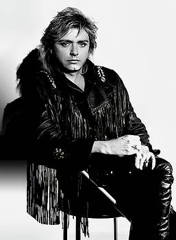 Benjamin Orr Portrait - Co-founder The Cars Band by Daniel Hagerman