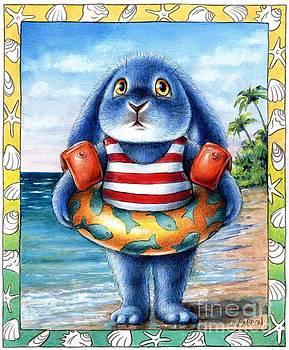 Christine Karron - Benny Blue on the Beach