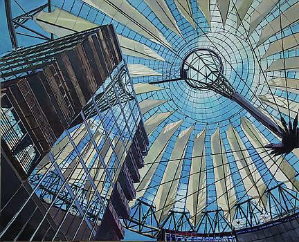 Berlin Potsdamer Platz  by Robert Keseru