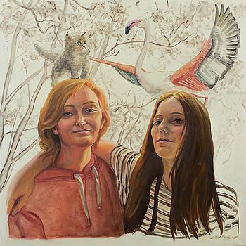 Best friends sisters by Marco Busoni