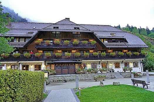 Best Western Hotel In The Breitnau Area Of The Black Forest by Richard Rosenshein