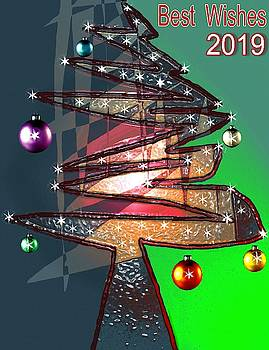 Best Wishes 2019 by Mimo Krouzian
