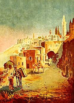 Bethlehem in 1893 by Munir Alawi