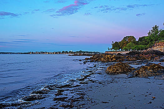 Toby McGuire - Beverly Lynch Park as seen from Rice Beach at Sunrise