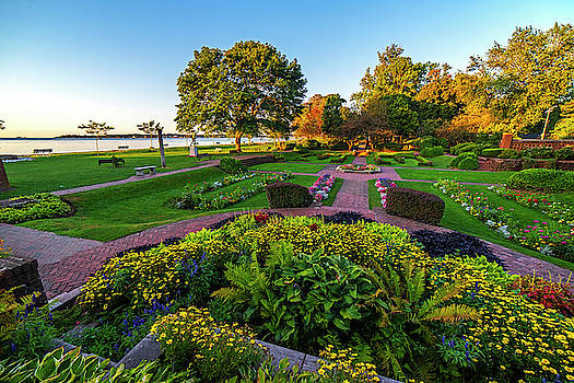 Toby McGuire - Beverly MA Lynch Park Wide View Sunrise Morning Light