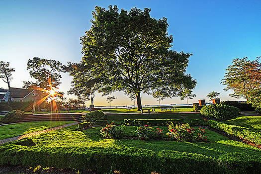 Toby McGuire - Beverly MA Lynch Park Wide View Sunrise Morning Light Tree