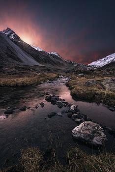 Beyond the dawn by Manuel Martin