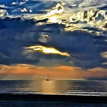 Beyond the sea by Yamy Morrell