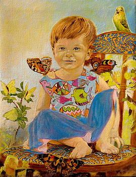 Henryk Gorecki - Bianka and butterflies
