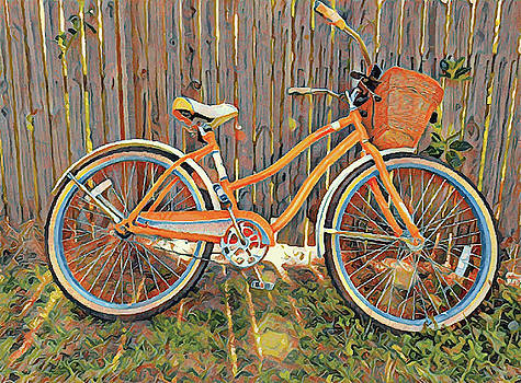 Bicycle and Basket by Jeff Williams