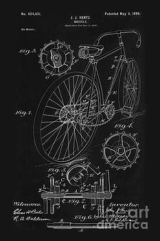 Tina Lavoie - Bicycle Blueprint drawing 1899