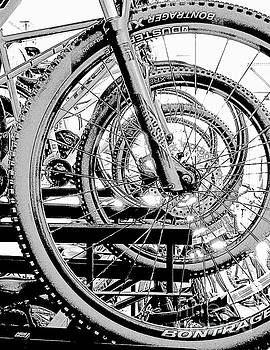 Sharon Williams Eng - Bicycle Wheel Abstract 300