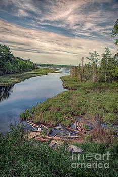 Big Bay Lagoon La Point Wisconsin by Nikki Vig