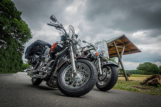 Big Bikes by Karsten Eggert