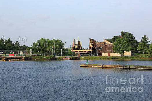 Big Chute Marine Railway, Trent Severn Waterway, Ontario by Louise Heusinkveld