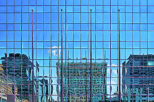 Big City Abstract by Robert FERD Frank