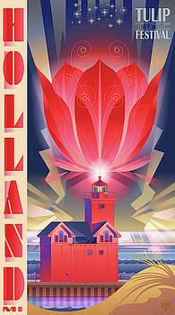 BIG RED, Holland Michigan by Garth Glazier