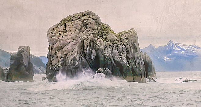 Big Splash On The Rock by Lisa Bell