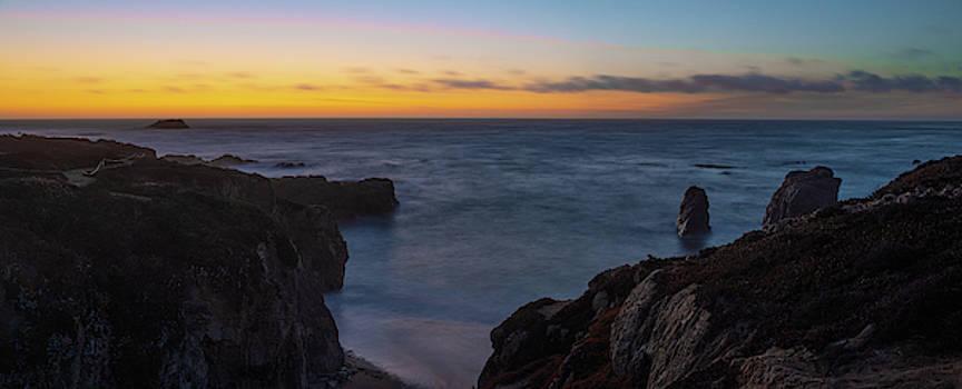 Big Sur California Sunset by Steve Gadomski
