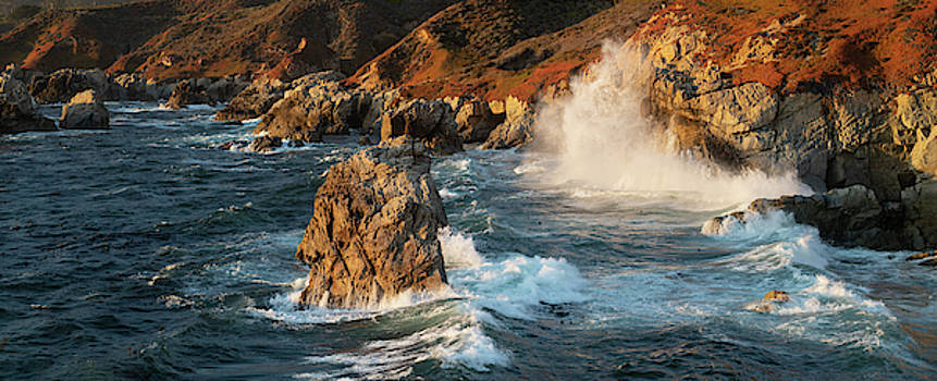 Big Sur Panorama by Steve Gadomski