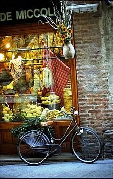 Bike in Sienna by Susie Rieple