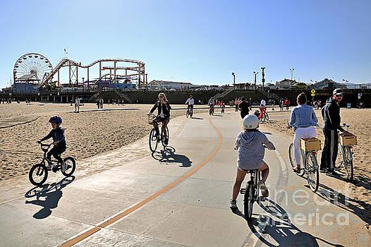 Diann Fisher - Bikes On The Beach