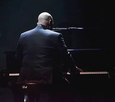 Billy Joel tickling the ivories by Alan Goldberg