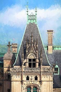 Biltmore Architectural Detail Painting  by Carol Montoya