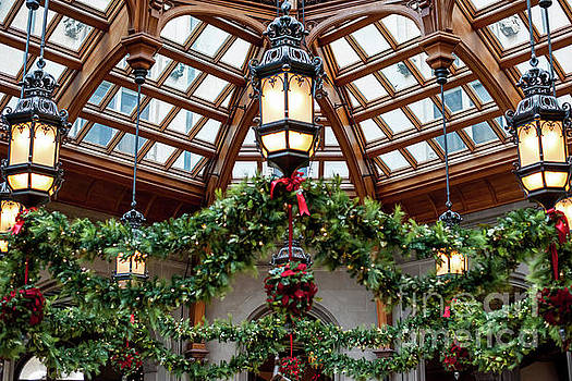 Dale Powell - Biltmore Christmas - Winter Garden
