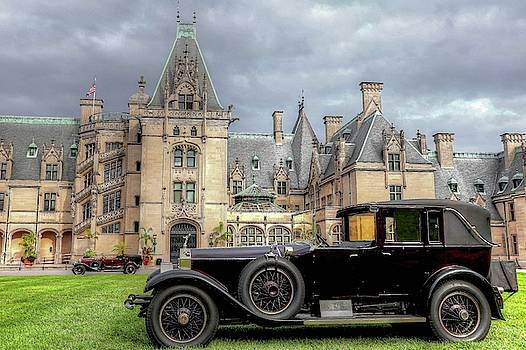 Biltmore House and Two Rolls Royce by Carol Montoya