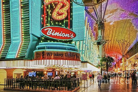 Tatiana Travelways - Binions Casino, Las Vegas