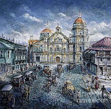 Binondo Church 1900s by Joey Agbayani