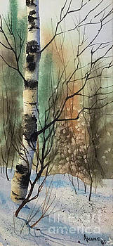 Birch Tree by Teresa Ascone