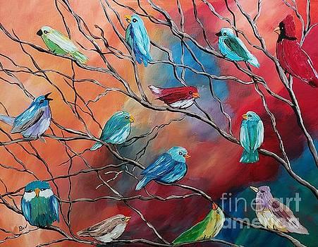 Birds  by Beverly Livingstone