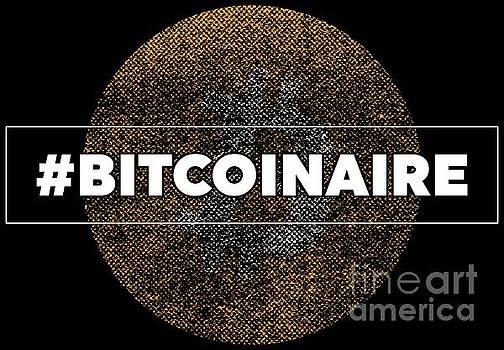 Bitcoin Hashtag Bitcoinaire Funny Cryptography Tee by Festivalshirt