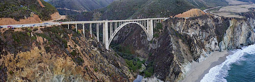 Bixby Bridge Big Sur California by Steve Gadomski