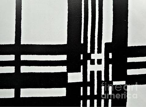Black and White Pattern-1 by Katerina Stamatelos