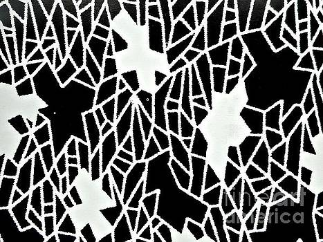 Black and White Pattern-4 by Katerina Stamatelos