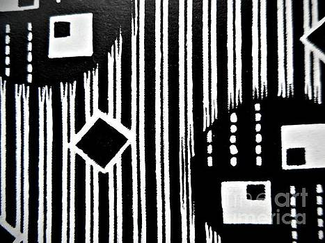 Black and White Pattern-8 by Katerina Stamatelos
