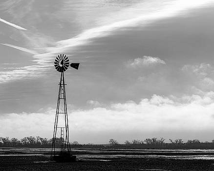 Rob Graham - Black and White Windmill 02