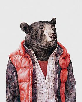Black Bear by Animal Crew