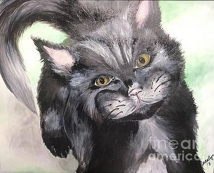 Black Kat by Jacalyn Hassler Yurchuck